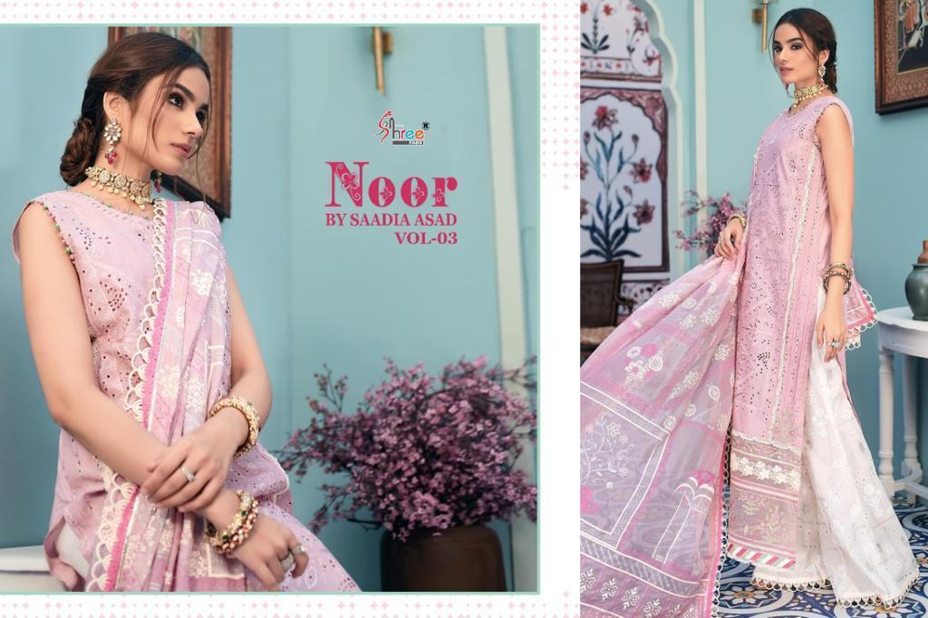 Shree Fabs Noor By Saadia Asad Vol 3 Salwar Suit Wholesale Catalog 5 Pcs 3 - Shree Fabs Noor By Saadia Asad Vol 3 Salwar Suit Wholesale Catalog 5 Pcs