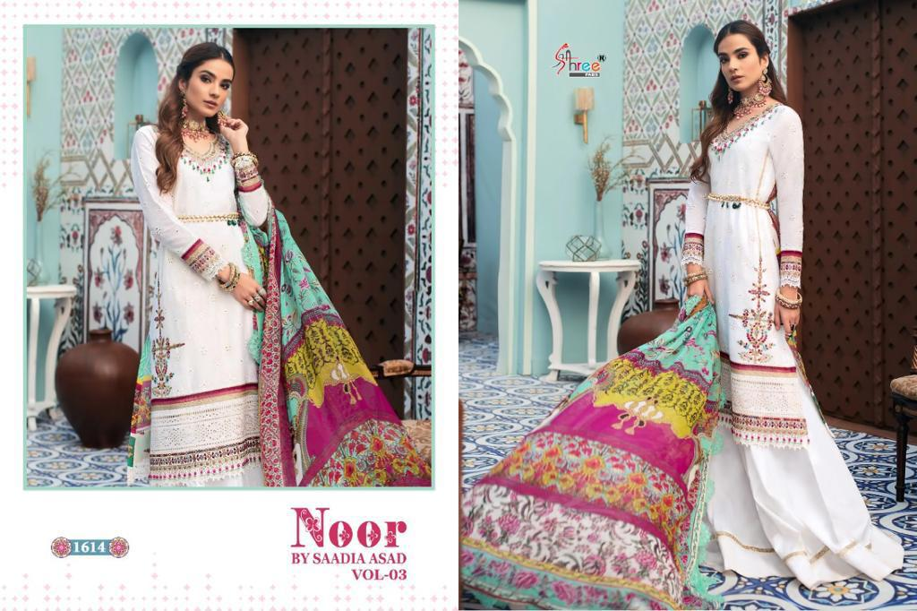 Shree Fabs Noor By Saadia Asad Vol 3 Salwar Suit Wholesale Catalog 5 Pcs 6 - Shree Fabs Noor By Saadia Asad Vol 3 Salwar Suit Wholesale Catalog 5 Pcs