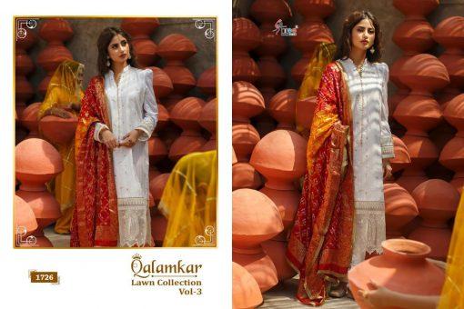 Shree Fabs Qalamkar Lawn Collection Vol 3 Salwar Suit Wholesale Catalog 6 Pcs 15 510x340 - Shree Fabs Qalamkar  Lawn Collection Vol 3 Salwar Suit Wholesale Catalog 6 Pcs
