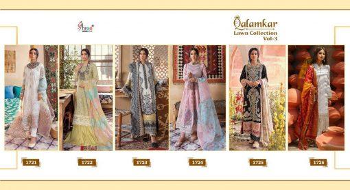 Shree Fabs Qalamkar Lawn Collection Vol 3 Salwar Suit Wholesale Catalog 6 Pcs 17 510x278 - Shree Fabs Qalamkar  Lawn Collection Vol 3 Salwar Suit Wholesale Catalog 6 Pcs