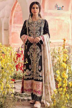 Shree Fabs Qalamkar Lawn Collection Vol 3 Salwar Suit Wholesale Catalog 6 Pcs