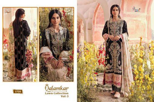 Shree Fabs Qalamkar Lawn Collection Vol 3 Salwar Suit Wholesale Catalog 6 Pcs 4 510x340 - Shree Fabs Qalamkar  Lawn Collection Vol 3 Salwar Suit Wholesale Catalog 6 Pcs