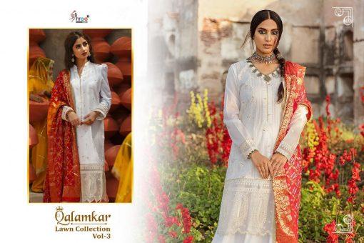 Shree Fabs Qalamkar Lawn Collection Vol 3 Salwar Suit Wholesale Catalog 6 Pcs 6 510x340 - Shree Fabs Qalamkar  Lawn Collection Vol 3 Salwar Suit Wholesale Catalog 6 Pcs