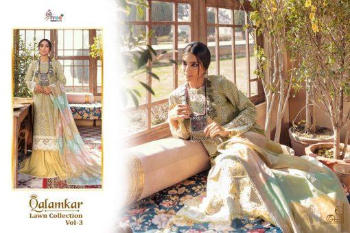 Shree Fabs Qalamkar Lawn Collection Vol 3 Salwar Suit Wholesale Catalog 6 Pcs 9 510x340 - Shree Fabs Qalamkar  Lawn Collection Vol 3 Salwar Suit Wholesale Catalog 6 Pcs