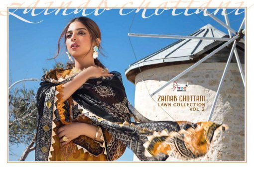 Shree Fabs Zainab Chottani Lawn Collection Vol 2 Salwar Suit Wholesale Catalog 8 Pcs 23 510x342 - Shree Fabs Zainab Chottani Lawn Collection Vol 2 Salwar Suit Wholesale Catalog 8 Pcs