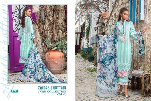 Shree Fabs Zainab Chottani Lawn Collection Vol 2 Salwar Suit Wholesale Catalog 8 Pcs 24 510x342 - Shree Fabs Zainab Chottani Lawn Collection Vol 2 Salwar Suit Wholesale Catalog 8 Pcs
