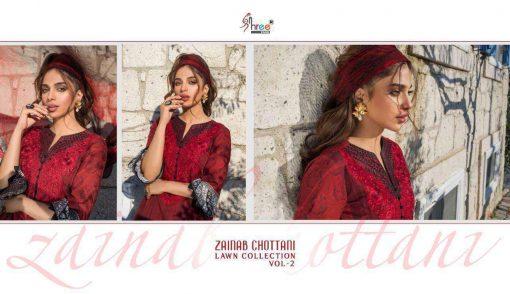Shree Fabs Zainab Chottani Lawn Collection Vol 2 Salwar Suit Wholesale Catalog 8 Pcs 30 510x294 - Shree Fabs Zainab Chottani Lawn Collection Vol 2 Salwar Suit Wholesale Catalog 8 Pcs