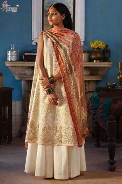 Shree Fabs Zara Shahjahan Lawn Collection Salwar Suit Wholesale Catalog 5 Pcs