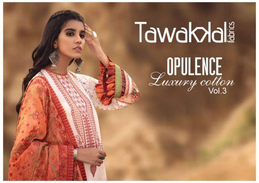 Tawakkal Opulence Luxury Cotton Vol 3 Salwar Suit Wholesale Catalog 10 Pcs 1 510x361 - Tawakkal Opulence Luxury Cotton Vol 3 Salwar Suit Wholesale Catalog 10 Pcs