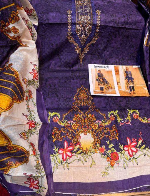 Tawakkal Opulence Luxury Cotton Vol 3 Salwar Suit Wholesale Catalog 10 Pcs 17 510x667 - Tawakkal Opulence Luxury Cotton Vol 3 Salwar Suit Wholesale Catalog 10 Pcs