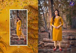 Vitara Lotus Kurti with Pant Wholesale Catalog 6 Pcs