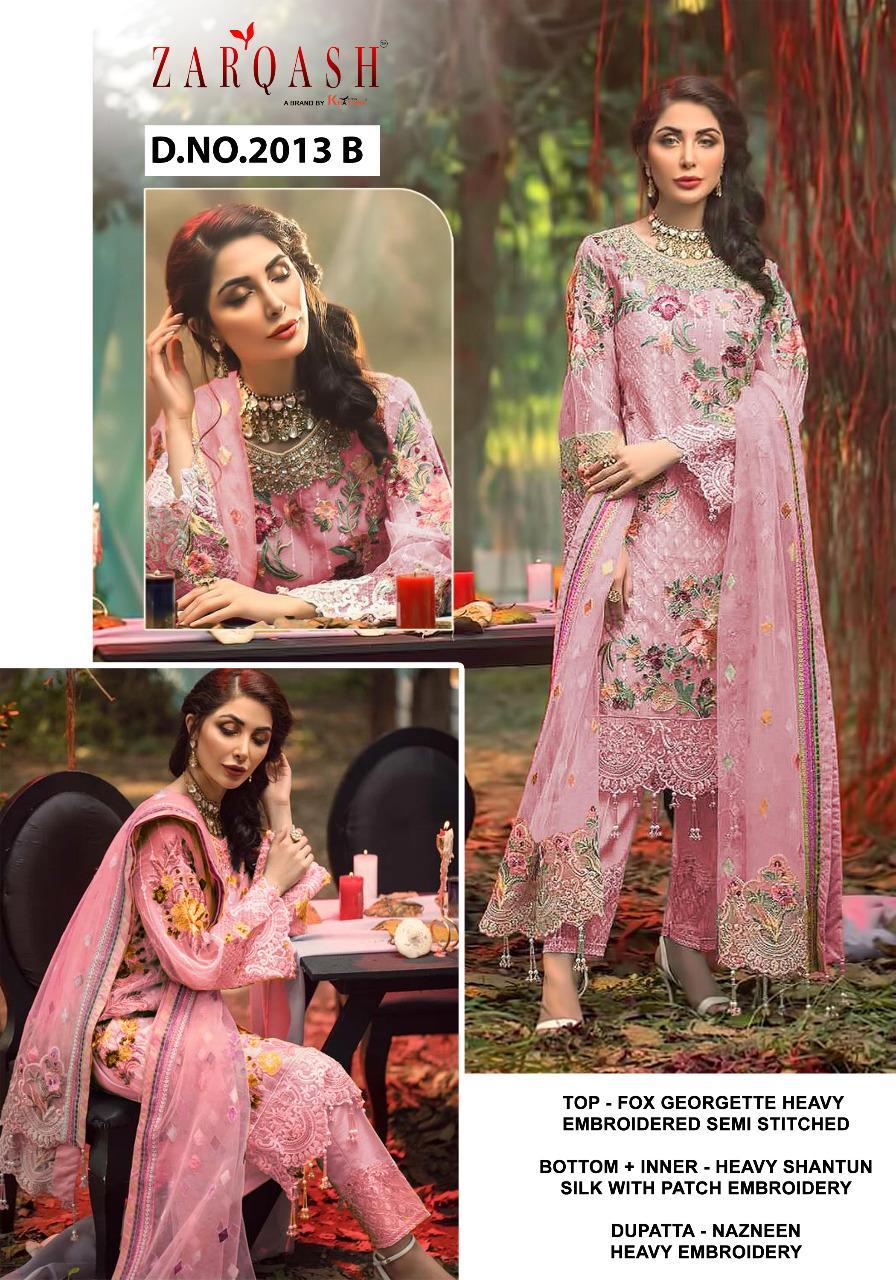 Zarqash Adans Hits by Khayyira Salwar Suit Wholesale Catalog 3 Pcs 2 - Zarqash Adans Hits by Khayyira Salwar Suit Wholesale Catalog 3 Pcs