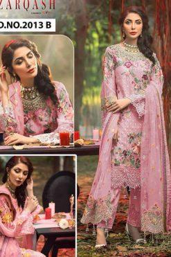Zarqash Adans Hits by Khayyira Salwar Suit Wholesale Catalog 3 Pcs