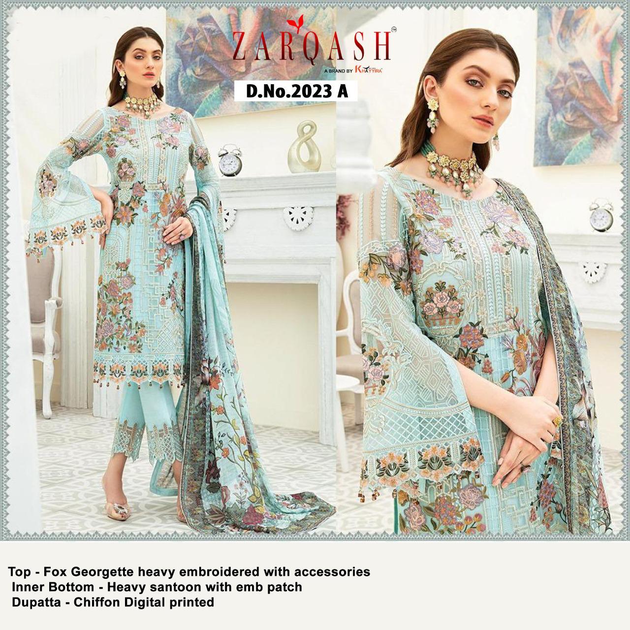 Zarqash Dynamic by Khayyira Salwar Suit Wholesale Catalog 4 Pcs 2 - Zarqash Dynamic by Khayyira Salwar Suit Wholesale Catalog 4 Pcs