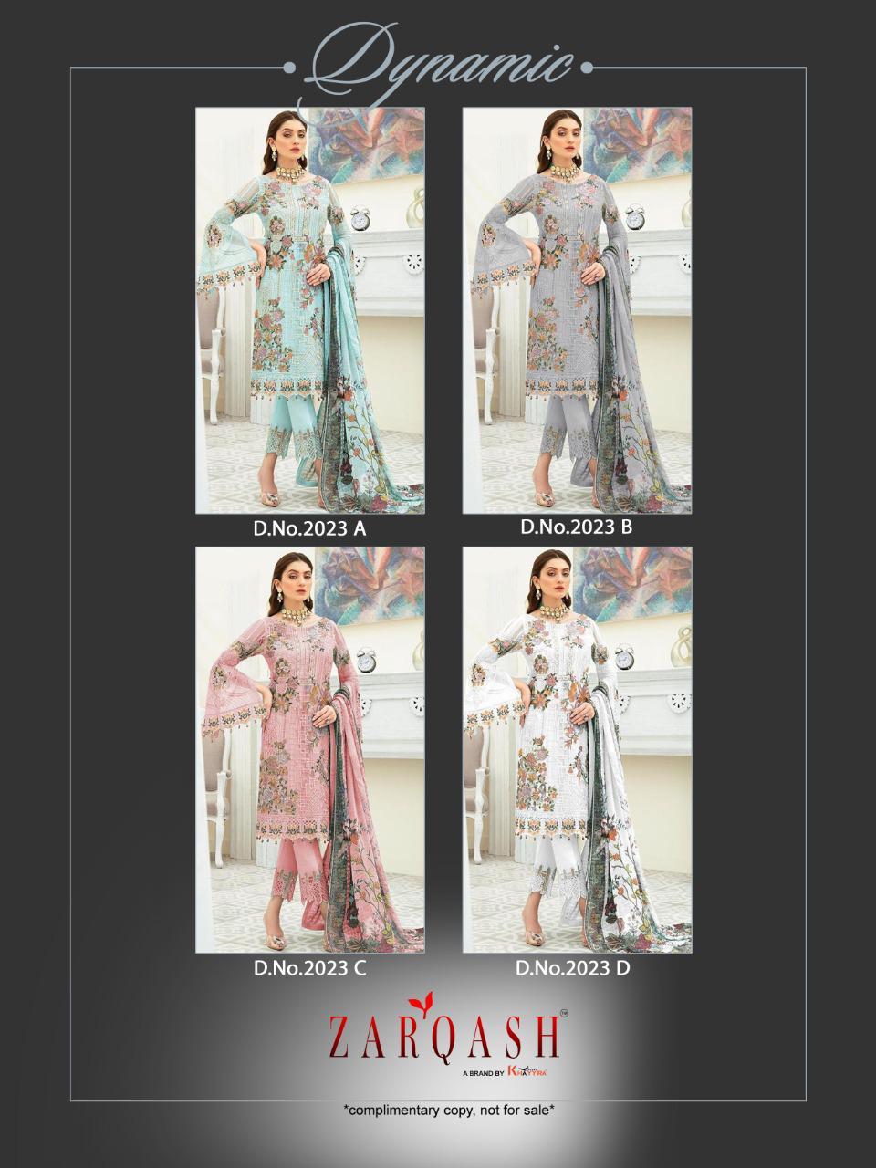 Zarqash Dynamic by Khayyira Salwar Suit Wholesale Catalog 4 Pcs 6 - Zarqash Dynamic by Khayyira Salwar Suit Wholesale Catalog 4 Pcs