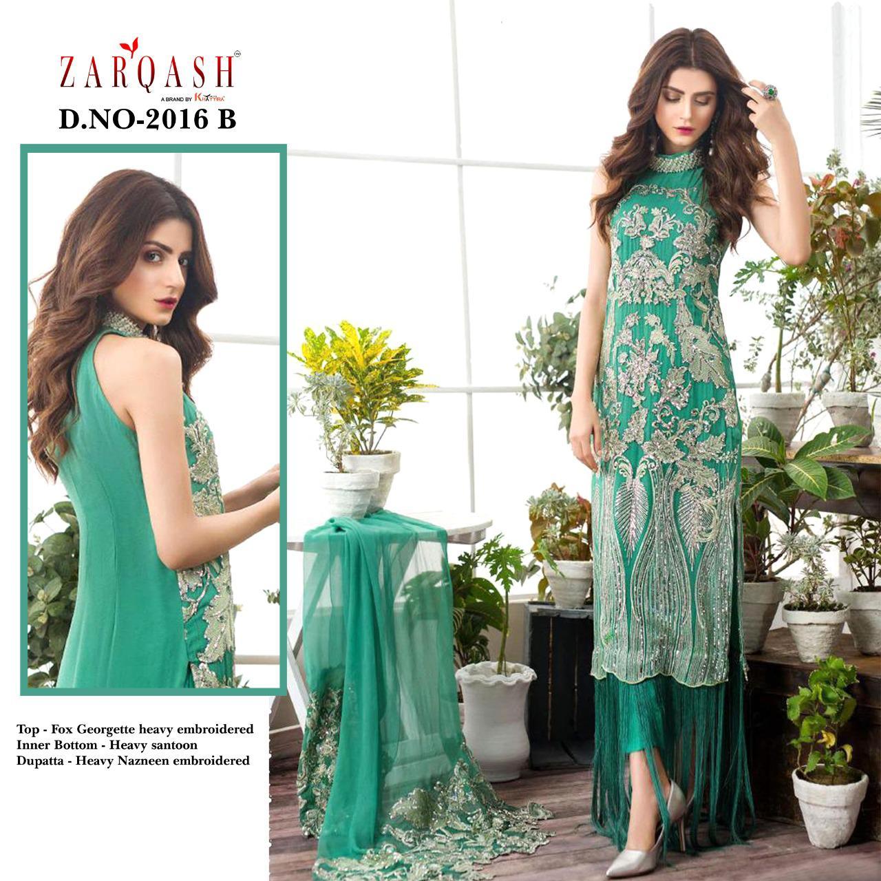 Zarqash Faiza by Khayyira Salwar Suit Wholesale Catalog 3 Pcs 1 - Zarqash Faiza by Khayyira Salwar Suit Wholesale Catalog 3 Pcs