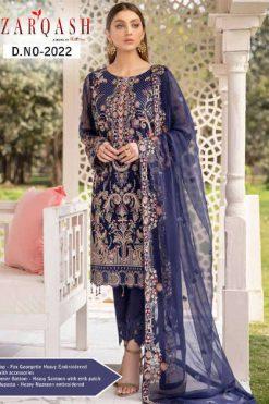 Zarqash Ramsha by Khayyira Salwar Suit Wholesale Catalog 5 Pcs