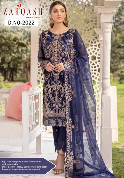 Zarqash Ramsha by Khayyira Salwar Suit Wholesale Catalog 6 Pcs 8 510x729 - Zarqash Ramsha by Khayyira Salwar Suit Wholesale Catalog 5 Pcs
