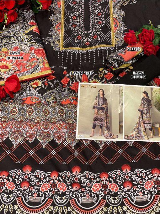 Agha Noor Vol 4 Luxury Lawn Collection Salwar Suit Wholesale Catalog 10 Pcs 22 510x683 - Agha Noor Vol 4 Luxury Lawn Collection Salwar Suit Wholesale Catalog 10 Pcs