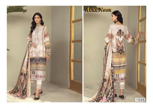 Agha Noor Vol 4 Luxury Lawn Collection Salwar Suit Wholesale Catalog 10 Pcs 5 1 510x361 - Agha Noor Vol 4 Luxury Lawn Collection Salwar Suit Wholesale Catalog 10 Pcs