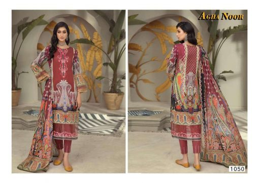 Agha Noor Vol 4 Luxury Lawn Collection Salwar Suit Wholesale Catalog 10 Pcs 8 1 510x361 - Agha Noor Vol 4 Luxury Lawn Collection Salwar Suit Wholesale Catalog 10 Pcs
