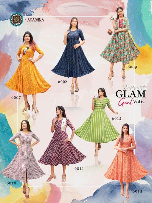 Aradhna Glam Girl Vol 6 Kurti Wholesale Catalog 13 Pcs 17 510x680 - Aradhna Glam Girl Vol 6 Kurti Wholesale Catalog 13 Pcs