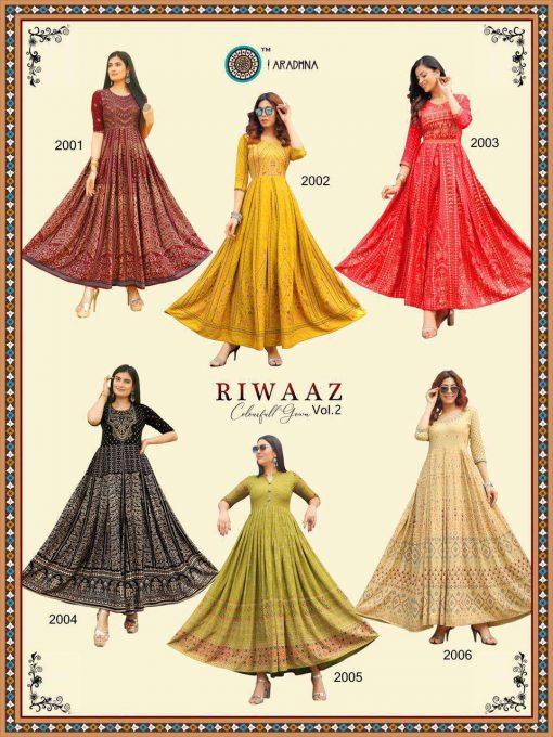Aradhna Riwaaz Vol 2 Kurti Wholesale Catalog 12 Pcs 20 510x680 - Aradhna Riwaaz Vol 2 Kurti Wholesale Catalog 12 Pcs