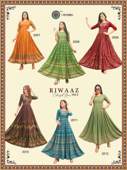 Aradhna Riwaaz Vol 2 Kurti Wholesale Catalog 12 Pcs 21 510x680 - Aradhna Riwaaz Vol 2 Kurti Wholesale Catalog 12 Pcs