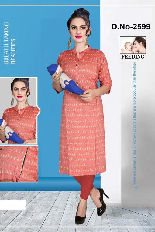 Avashya Inkline Feeding Kurtis Vol 8 Wholesale Catalog 6 Pcs 5 510x765 - Avashya Inkline Feeding Kurtis Vol 8 Wholesale Catalog 6 Pcs