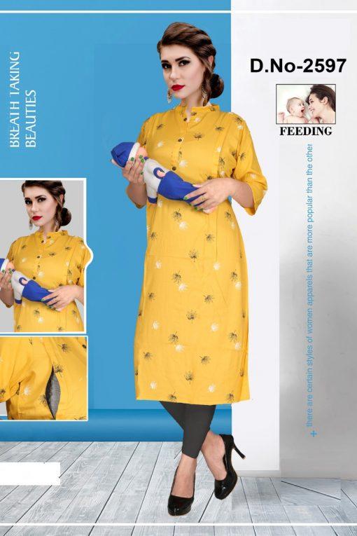 Avashya Inkline Feeding Kurtis Vol 9 Wholesale Catalog 6 Pcs 6 510x765 - Avashya Inkline Feeding Kurtis Vol 9 Wholesale Catalog 6 Pcs