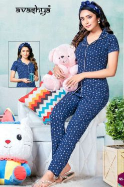 Avashya Premium Night Wear Vol 8 Wholesale Catalog 6 Pcs