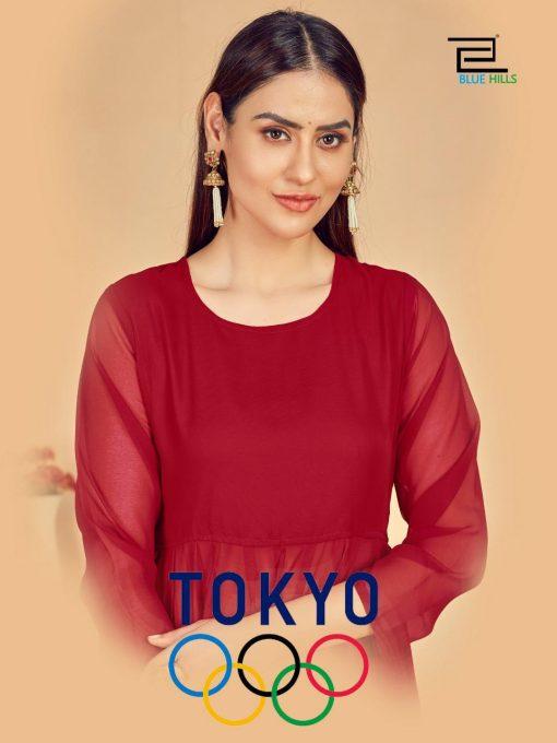Blue Hills Tokyo Kurti Wholesale Catalog 5 Pcs 1 510x680 - Blue Hills Tokyo Kurti Wholesale Catalog 5 Pcs