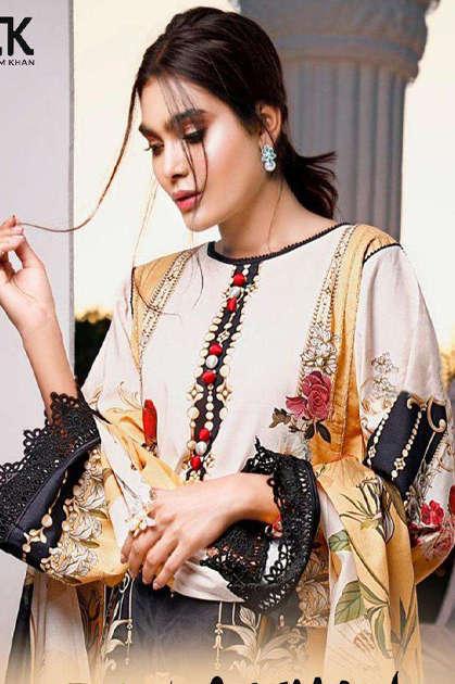Erum Khan Premium Cotton Collection Vol 1 Salwar Suit Wholesale Catalog 6 Pcs - Erum Khan Premium Cotton Collection Vol 1 Salwar Suit Wholesale Catalog 6 Pcs