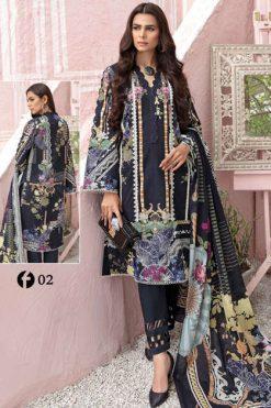 Firdous Urbane Luxury Lawn Collection Salwar Suit Wholesale Catalog 8 Pcs