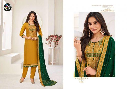Four Dots Manjari Vol 5 by Kessi Salwar Suit Wholesale Catalog 4 Pcs 1 1 510x359 - Four Dots Manjari Vol 5 by Kessi Salwar Suit Wholesale Catalog 4 Pcs