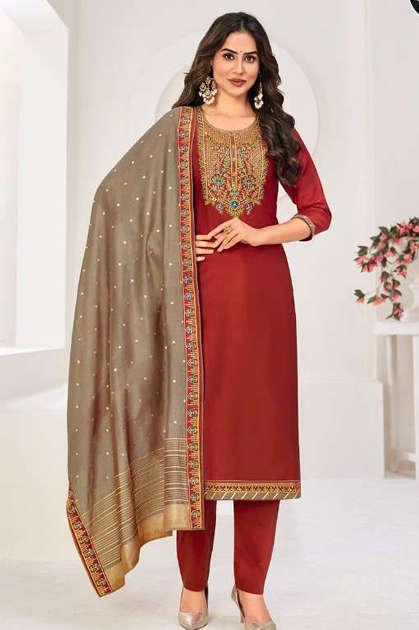 Four Dots Manjari Vol 5 by Kessi Salwar Suit Wholesale Catalog 4 Pcs