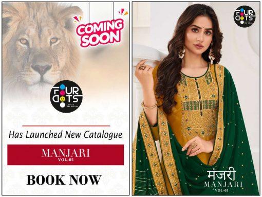 Four Dots Manjari Vol 5 by Kessi Salwar Suit Wholesale Catalog 4 Pcs 8 1 510x383 - Four Dots Manjari Vol 5 by Kessi Salwar Suit Wholesale Catalog 4 Pcs