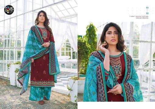 Four Dots Mannat by Kessi Salwar Suit Wholesale Catalog 4 Pcs 6 510x359 - Four Dots Mannat by Kessi Salwar Suit Wholesale Catalog 4 Pcs