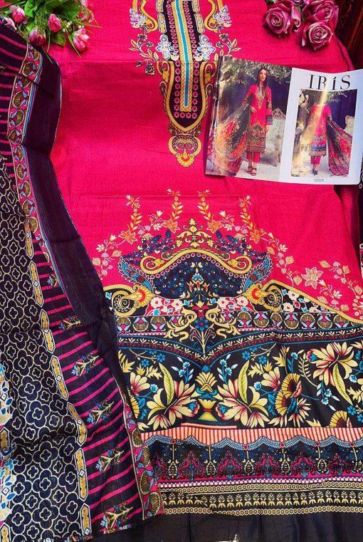 Iris Vol 12 Karachi Cotton Salwar Suit Wholesale Catalog 10 Pcs 15 510x761 - Iris Vol 12 Karachi Cotton Salwar Suit Wholesale Catalog 10 Pcs