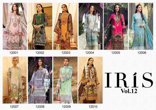 Iris Vol 12 Karachi Cotton Salwar Suit Wholesale Catalog 10 Pcs 20 510x361 - Iris Vol 12 Karachi Cotton Salwar Suit Wholesale Catalog 10 Pcs
