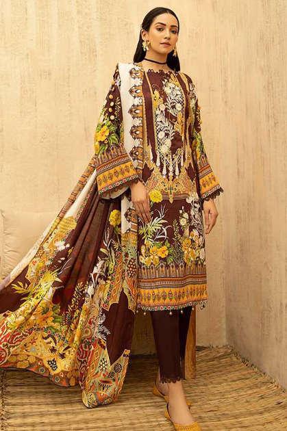Iris Vol 12 Karachi Cotton Salwar Suit Wholesale Catalog 10 Pcs