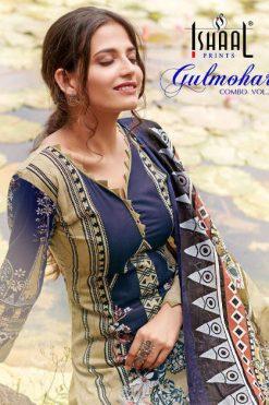 Ishaal Gulmohar Combo Vol 2 Salwar Suit Wholesale Catalog 10 Pcs
