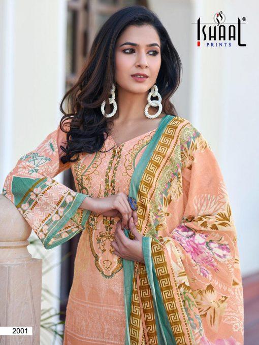 Ishaal Gulmohar Combo Vol 2 Salwar Suit Wholesale Catalog 10 Pcs 7 1 510x680 - Ishaal Gulmohar Combo Vol 2 Salwar Suit Wholesale Catalog 10 Pcs