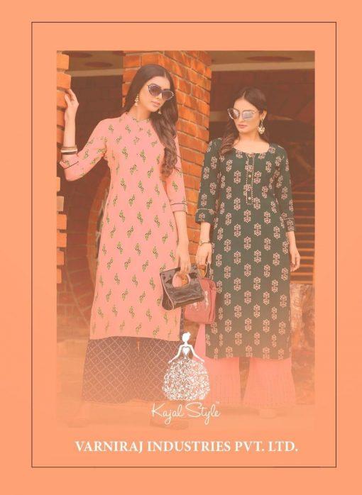 Kajal Style Fashion Diva Vol 1 Kurti with Palazzo Wholesale Catalog 8 Pcs 11 510x698 - Kajal Style Fashion Diva Vol 1 Kurti with Palazzo Wholesale Catalog 8 Pcs