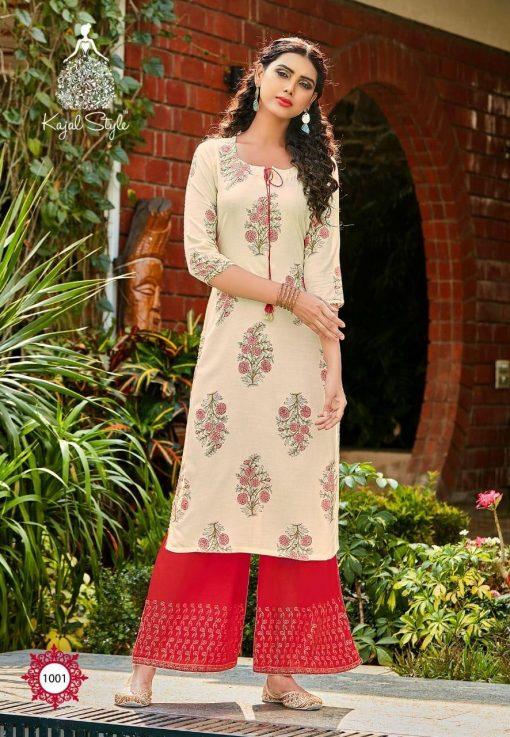 Kajal Style Fashion Diva Vol 1 Kurti with Palazzo Wholesale Catalog 8 Pcs 3 510x737 - Kajal Style Fashion Diva Vol 1 Kurti with Palazzo Wholesale Catalog 8 Pcs