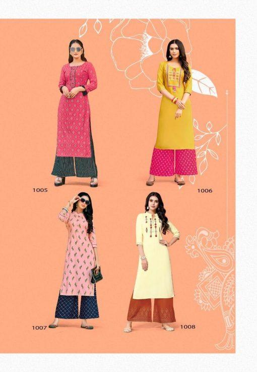 Kajal Style Fashion Diva Vol 1 Kurti with Palazzo Wholesale Catalog 8 Pcs 9 510x737 - Kajal Style Fashion Diva Vol 1 Kurti with Palazzo Wholesale Catalog 8 Pcs