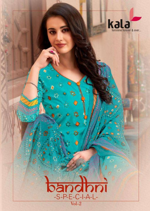 Kala Bandhani Special Vol 2 Salwar Suit Wholesale Catalog 12 Pcs 1 510x715 - Kala Bandhni Special Vol 2 Salwar Suit Wholesale Catalog 12 Pcs