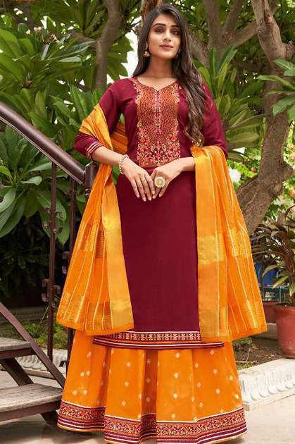 Kalaroop Carnival Vol 2 by Kajree Readymade Salwar Suit Wholesale Catalog 6 Pcs