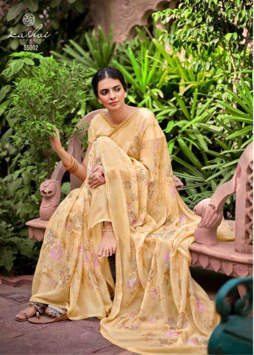 Kashvi Olivia by Lt Fabrics Saree Sari Wholesale Catalog 10 Pcs 4 510x714 - Kashvi Olivia by Lt Fabrics Saree Sari Wholesale Catalog 10 Pcs
