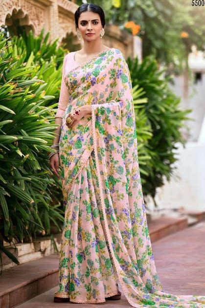 Kashvi Olivia by Lt Fabrics Saree Sari Wholesale Catalog 10 Pcs